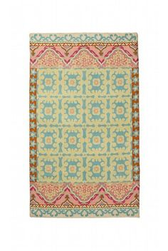 Crewel Rug Floral Fresco Sky Blue Chain Stitched Wool Rug... https://www.amazon.com/dp/B00GE5146O/ref=cm_sw_r_pi_dp_x_4cFPxbCD81HJ1