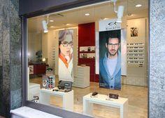 Optical Shop, Sunglasses Shop, Inspiration Boards, Retail Design, Store Design, Facade, Display, Interior, Shopping