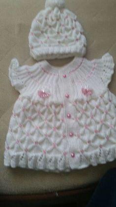 Hızlı ve Kolay Resim Paylaşımı Baby Cardigan, Baby Pullover, Crochet Girls, Crochet For Kids, Crochet Baby, Baby Knitting Patterns, Baby Patterns, Crochet Patterns, Abaya Mode