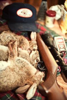 Rabbit hunting = rabbit eating