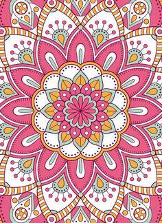 Mandala Art, Mandalas Painting, Mandalas Drawing, Mandala Coloring Pages, Mandala Design, Flower Wallpaper, Wallpaper Backgrounds, Iphone Wallpaper, Islamic Art Pattern