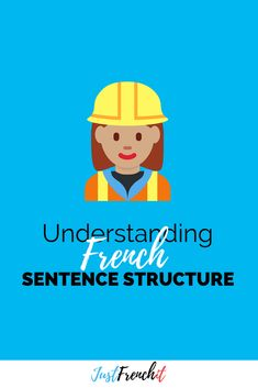 French Sentence Structure is the number ONE problem for most French learners. And I'll admit it can be confusing, but hey, let's look at it together. French Sentences, French Phrases, French Words, How To Speak French, Learn French, French Articles, French Resources, French Flashcards, French Friend