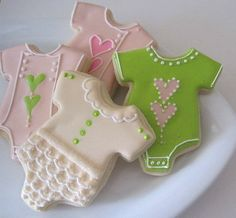 sweet cookies for a baby shower