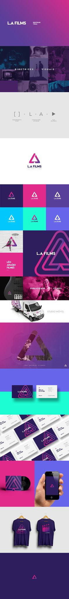 L.A Films on Behance
