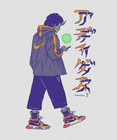 Japan Art, Cute Art, Cyberpunk, Character Art, Joker, Sketches, Cartoon, Speed Check, Wallpaper