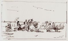 Roy Connelly - Sketch after Boudin