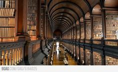 Just a picture at Trinity College Library