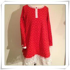 PopHearts red  Skapat av mig: Julklänning
