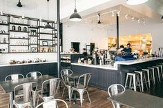 Pacific Heights' favourite coffee shop lets loose with energetic arts district…