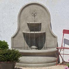 Campania International, Inc Estancia Cast Stone Fountain & Reviews | Wayfair