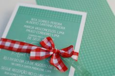 Picnic wedding invitation.  Design: Marina Curak