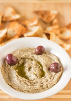 Baba Ghanoush is a creamy, classic Mediterranean eggplant dip that with a touch of sweetness makes a crowd pleaser!