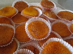 Portuguese Desserts, Portuguese Recipes, Sweets Recipes, Cake Recipes, Cooking Recipes, Cupcakes, Cupcake Cakes, Brazilian Dishes, Gluten Free Cakes