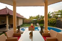 Bali Asih Villa is a 15-minute drive to Petitenget Beach and Seminyak Square. It takes 20 minutes to drive to Potato Head Beach Club and 30 minutes to drive to Ngurah Rai International Airport from the property.