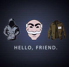 Hello, friend. #MrRobot