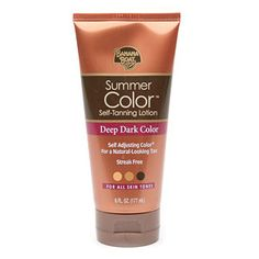 I have probably tried every self tanner out there. I'm pretty translucent so it's been a struggle to find a self tanner that works for me. This is by far the best drug store self tanner I have ever used. It gives you a natural looking, streak free tan and it's tinted so you can see where your applying it. Best part is, it's only $6.99!