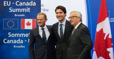Canada and E.U. Sign Trade Deal, Bucking Resistance to Globalization - The New York Times