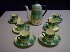 Art Deco part coffee set. By Royal Stafford. £ 90. @ http://maxartdeco.binary-synergy.com/