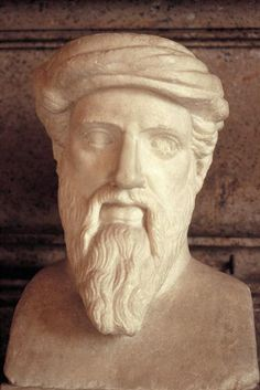 PITHAGORAS OF SAMOS ANOTHER DISTINGUISHED GREEK MATHEMATICIAN & PHILOSOPHER