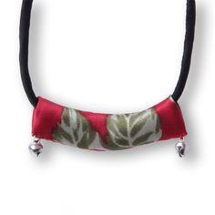 #Swanmarks Liebo New 2012 Vintga Silk Necklace Bracelet