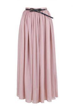Elegant Chiffon Long Skirt Multi Color - OASAP.com $35 free shipping