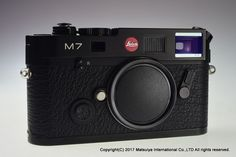 Leica M7 0.72 Body Black 35mm Rangefinder Film Camera Excellent+ #Leica