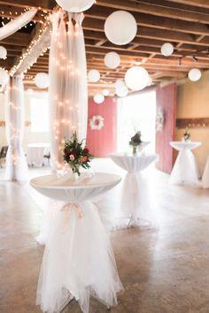 Hanging lanterns and twinkling string lights are oh-so romantic: http://www.stylemepretty.com/new-york-weddings/syracuse/skaneateles-syracuse/2015/09/14/rustic-glam-finger-lakes-wedding/ | Photography: Elizabeth LaDuca - http://elizabethladuca.com/