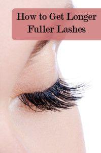 How to Get Longer Fuller Lashes