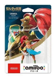 Nintendo amiibo The Legend of Zelda Breath of the Wild Urbosa 3DS Wii U F/S #Nintendo