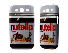 Nutella Case for Samsung Galaxy Note 2 S3 Mini S2 Skyrocket S Nexus Ace Plus SL Ativ Infuse 4G S3350 Phone Case Cover Cover Nutella Retro. $17.00, via Etsy.