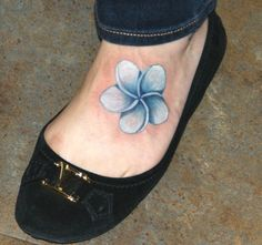 Flower on foot...the color on this is awesome