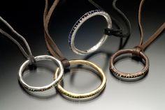 Gemstone Bead Pendants, sterling silver, copper and brass, semi-precious gemstone beads, deerhide Copper And Brass, Gemstone Beads, Hoop Earrings, Pendants, Gemstones, Sterling Silver, Stuff To Buy, Jewelry, Jewels