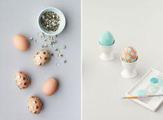DIY eggs PapernStich