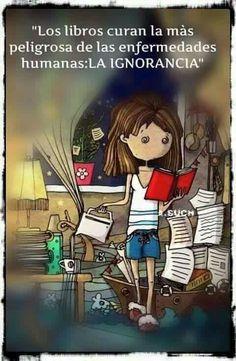 Los libros...
