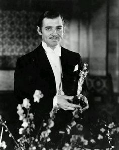 "Clark Gable ~ Acadamy Award Winner For Best 	Actor In Motion Picture ""It Happened One Night"" 1934"