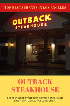 Los Angeles Restaurants, Top Restaurants, Universal Studios, Los Angeles Travel, Europe Destinations, United States Travel, Outback Steakhouse, European Travel, Travel Quotes