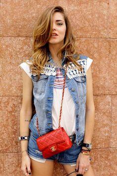 Inspiração fashion do dia: Colete Jeans