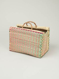I also LOVE baskets and this one is especially pretty!
