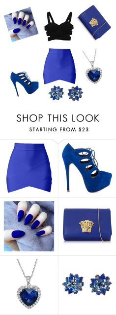 """""""Untitled #33"""" by styleonpoint1 ❤ liked on Polyvore featuring JustFabulous, Versace and Alice Joseph Vintage"""