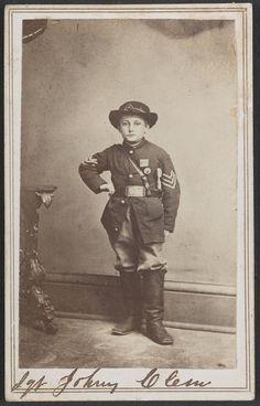 SERGEANT JOHN CLEM, Twenty-second Michigan Volunteer Infantry, is ...