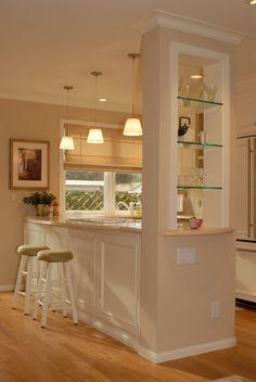 Small condo kitchen. Design By Janice Gistinelli JA Consultants