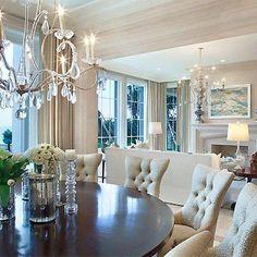 Elegante Branco, salas de Jantar / living room