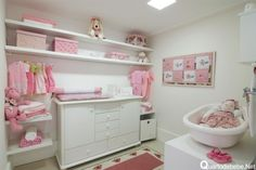 Nice Baby Closet. In case you have the luxury :)