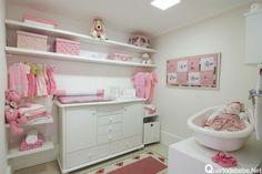 banheiro infantil rosa e branco