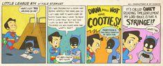 Little League #14 by Yale Stewart  Characters © DC Comics. Creative content © Yale Stewart.   Reblogs are always appreciated!