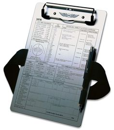 add15836cd9 ASA VFR Kneeboard ASA-KB1 -A Keep yourself organized for your flight with  this