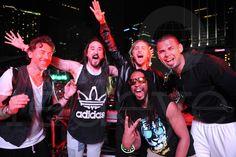 Electro Power Players: Benny Benassi, Steve Aoki, Lil John, David Guetta and Afrojack (lame) at #UMF #WMC 2012