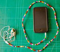 Perler bead earphones (tutorial - img heavy) - MISCELLANEOUS TOPICS