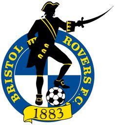 1883, Bristol Rovers F.C. (Bristol, England) #BristolRoversFC #England (L8129)
