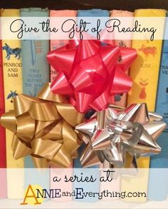 Do you love to read as much as I do? Check out my series on giving children's books as gifts.